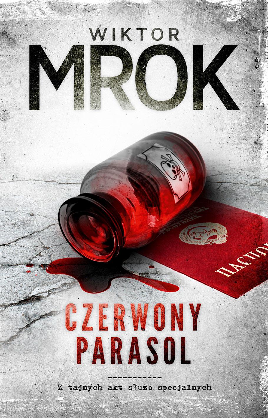 """""""Czerwony parasol"""" - Wiktor Mrok"""